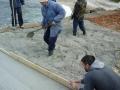 dvd komiza, betoniranje rive u uvali barjosko 20.02.2016