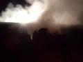 dvd komiža, požar krova na zgradi pz-a komiza (mlin), rujan 2015
