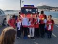 dvd komiza, nastup na 9. zupanijsko vatrogasno natjecanje podmlatka i vatrogasne mladezi u splitu, 21.10.2017